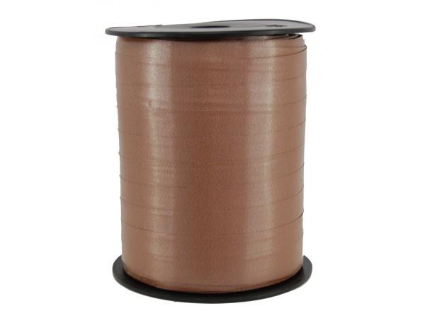 Polysheenbånd, brun