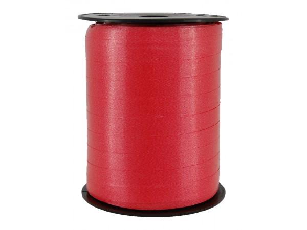 Polysheenbånd, rød