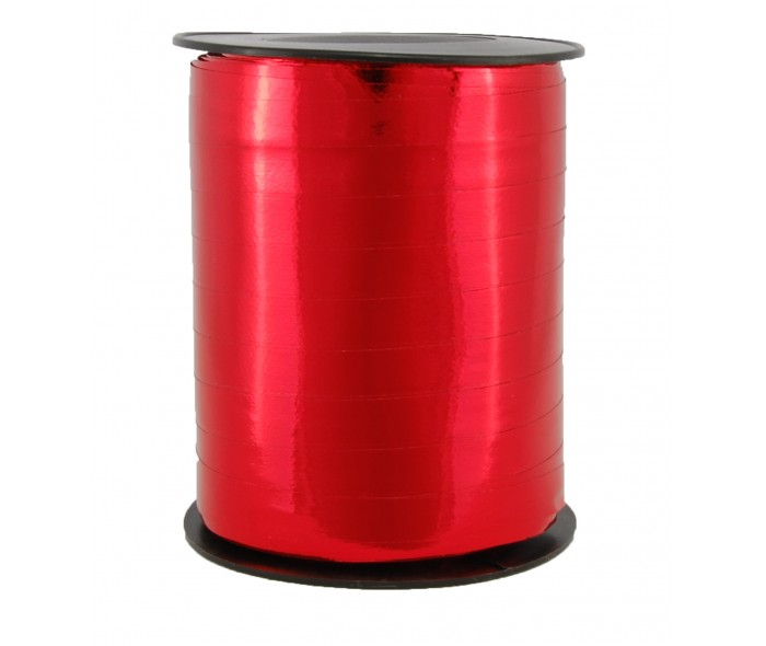 Metallic bånd, rød