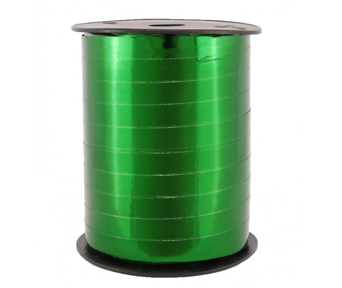Metallic bånd, grønn