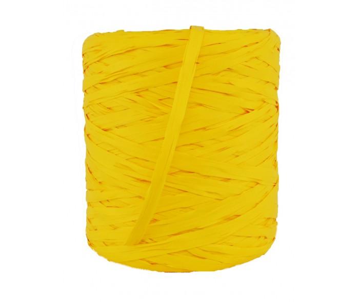 Raffia bånd, gul