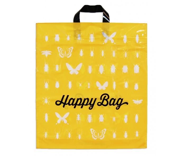 Plastbærepose med loop håndtak