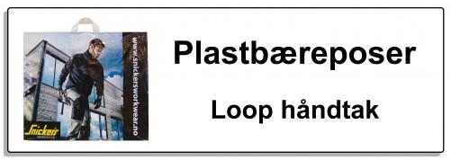 Plastbæreposer loop knapp 70