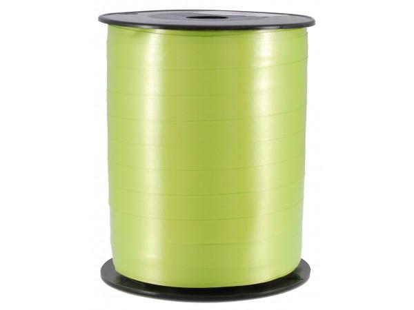 Polysheenbånd, limegrønn