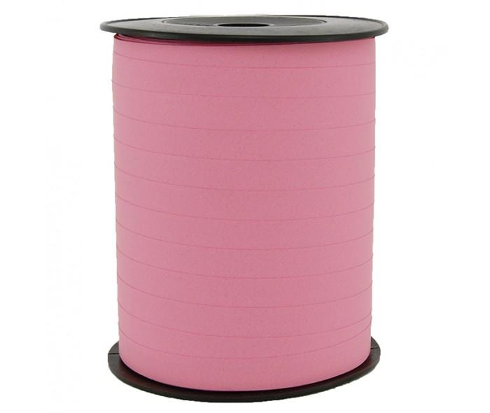 Matt glatt bånd rosa