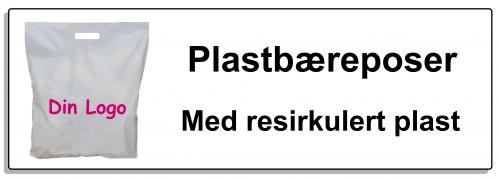 Plastbærepose resirkulert knapp2 70