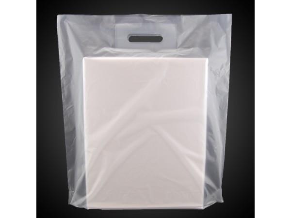 Bæreposer, frostet/matt LD-plast
