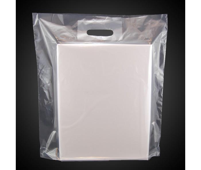 Bæreposer, transparent/klar LD-plast