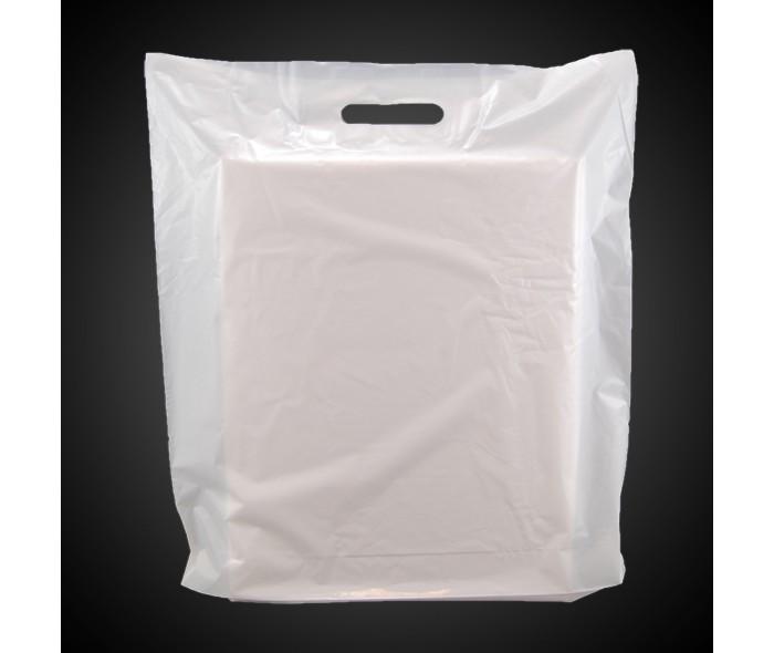 Bæreposer, hvit LD-plast