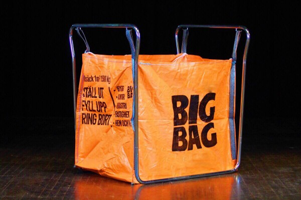 Big bag stativ gulv