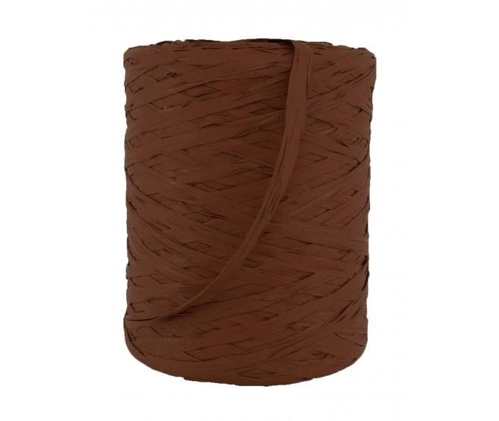 Raffia bånd, brun