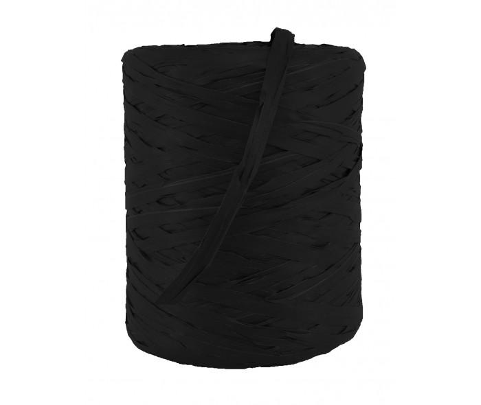 Raffia bånd, svart