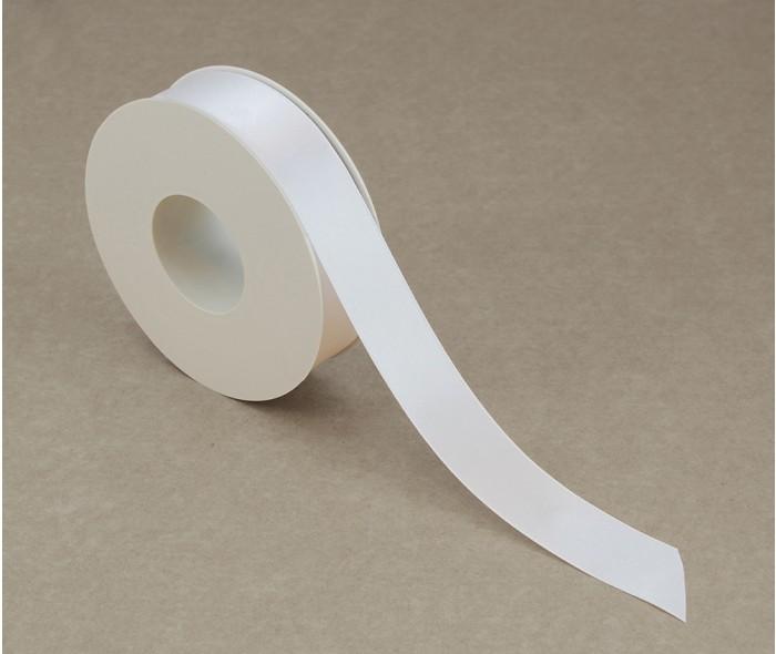 Silkebånd, hvit