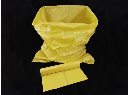 Avfallssekker 100 L. gule